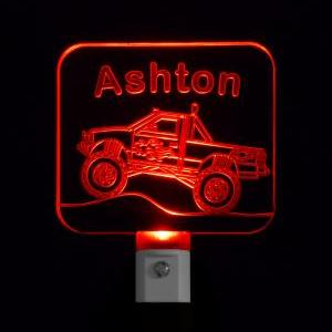 Personalized Monster Truck LED Nigh..