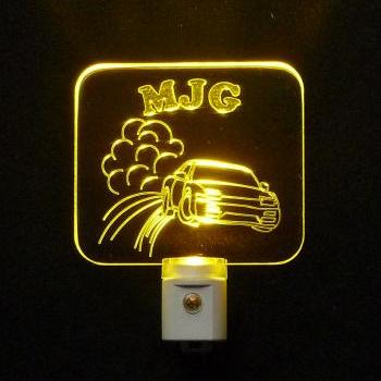 Personalized Drifting Car LED Night Light